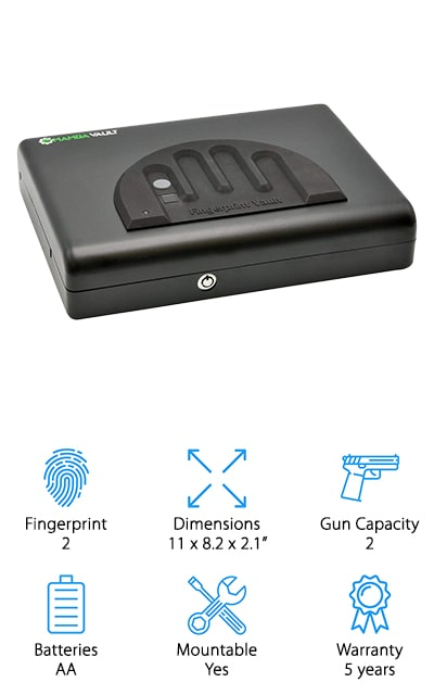 Mamba Vault Biometric Gun Safe
