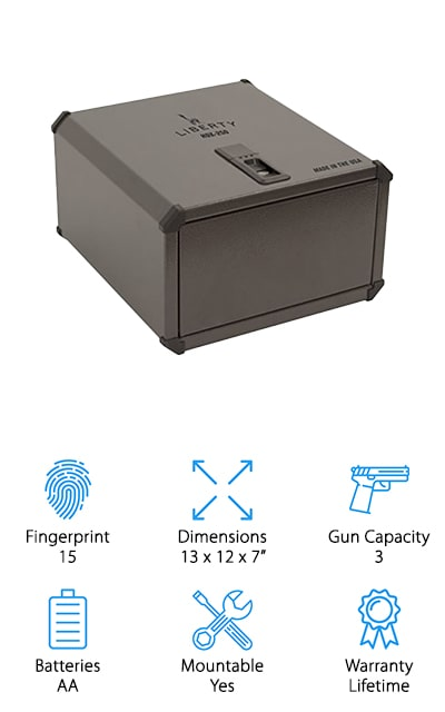 Liberty Safe Biometric Vault