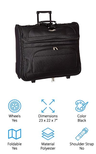 Traveler's Choice Garment Bag