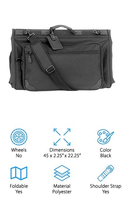 Mercury Tri-Fold Garment Bag