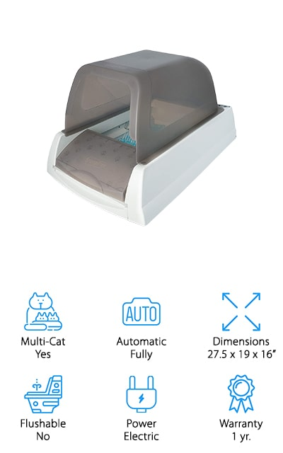 ScoopFree Self-Cleaning Litter Box