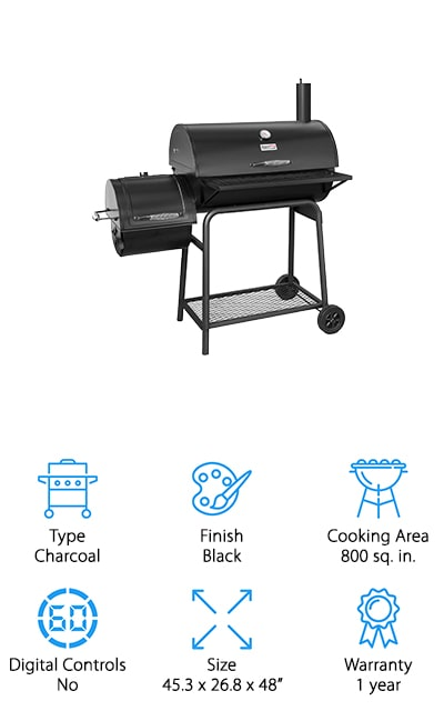 Royal Gourmet Grill Smoker