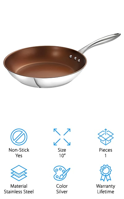 Ozeri Stainless Steel Pan