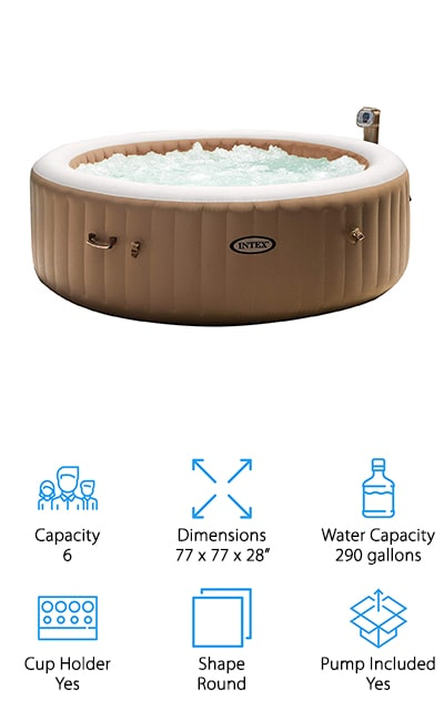 Intex PureSpa Inflatable Spa