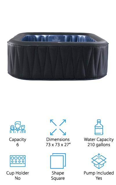 MSPA Tekapo Inflatable Hot Tub
