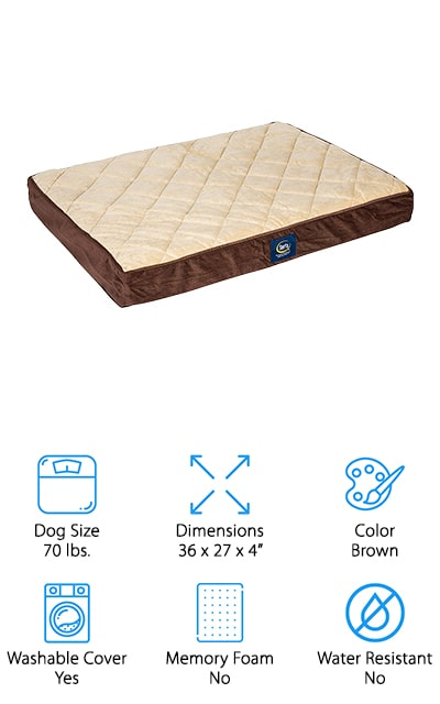 Serta Ortho Pet Bed