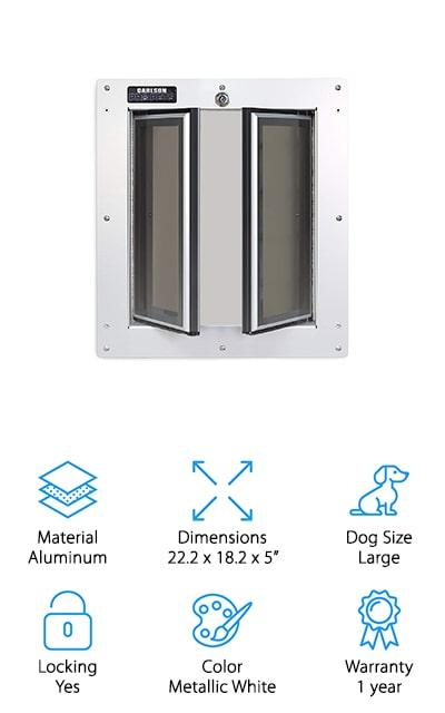 Carlson Pro Pets Pet Door