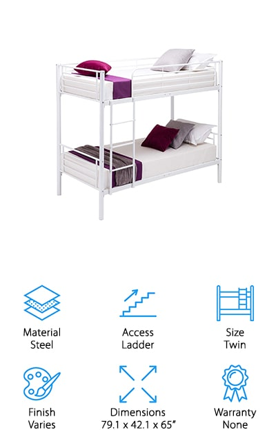 Mecor Metal Bunk Bed