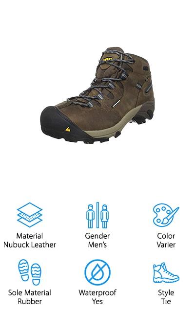 KEEN Utility Detroit Work Boot