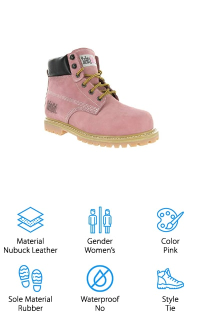 Safety Girl Steel Toe Work Boots