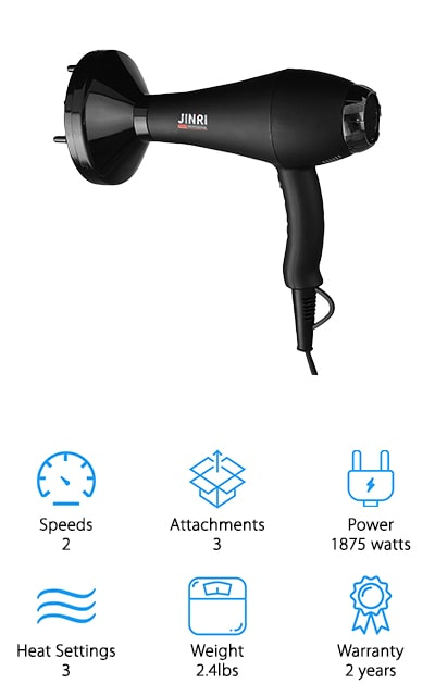 Jinri Salon Grade Hair Dryer