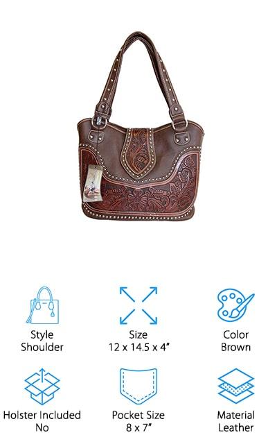 Montana West Concealed Handbag