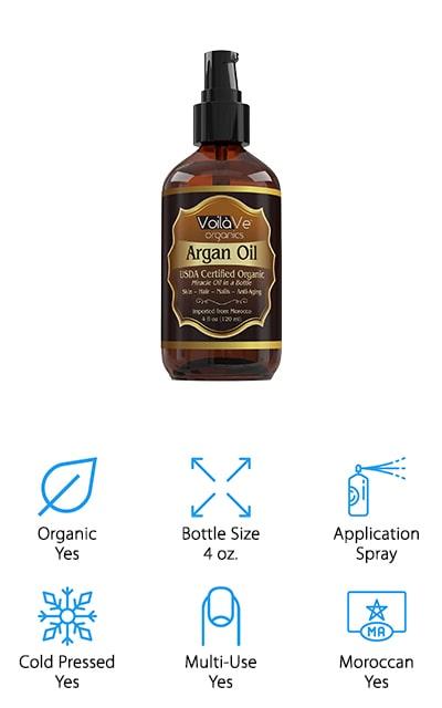 VoilaVe Moroccan Argan Oil