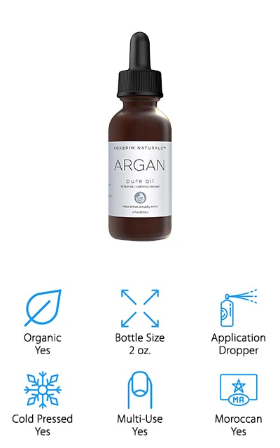 Foxbrim Natural's Argan Oil