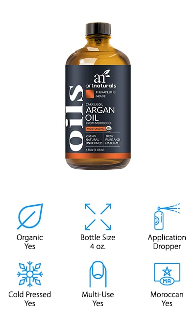 ArtNaturals Pure Argan Oil