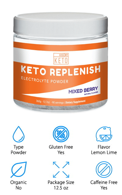 Kiss My Keto Electrolytes Powder
