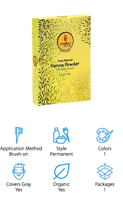 If you adhere to an Ayurveda lifestyle, or you prefer to use all natural products, this henna-based dye from Matru is a great option for wiping out greys without harsh chemicals! This kit comes with all natural henna powder and indigo powder that you mix in different ratios to get the color you want. We like this because it means you can get a truly custom look each time, or gradually darken it to your liking. Henna and indigo are also known for improving the shine and strength of hair, which is an added bonus! If you are particularly sensitive to chemicals, gluten, or animal products, don't worry – this dye is all natural and free of allergens commonly found in hair dyes! This product takes a bit of trial and error, so it may be better if you have experience with dying your hair already. However, if you take things slowly, even beginners can get the look they want naturally!