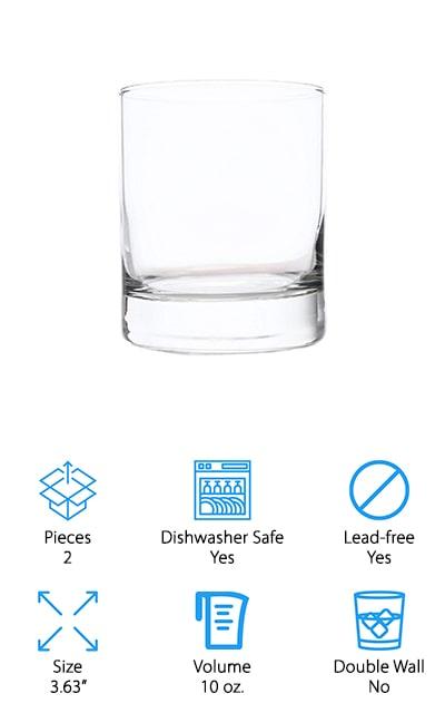 Taylor'd Milestones Whiskey Glass