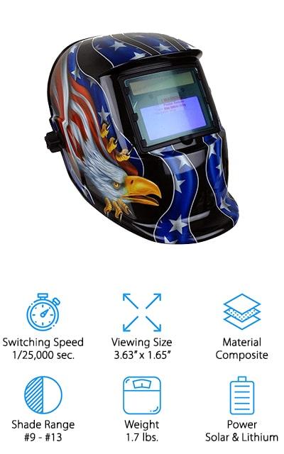Instapark GX-500S Welding Helmet