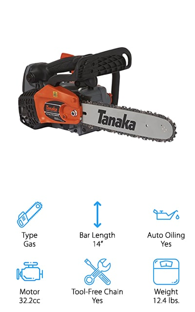 Tanaka Top Handle Chain Saw