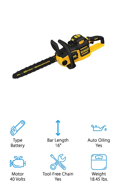 DEWALT Brushless Chainsaw