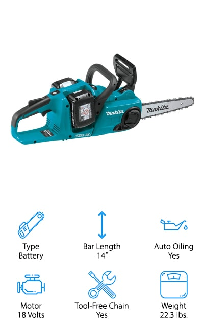 Makita XCU03PT1 Chain Saw