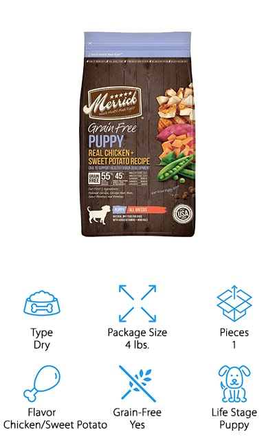 Merrick Puppy Recipe Food