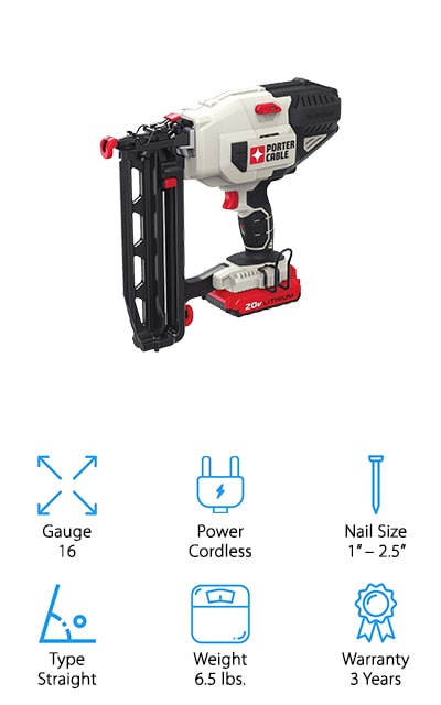 PORTER-CABLE Finish Nailer