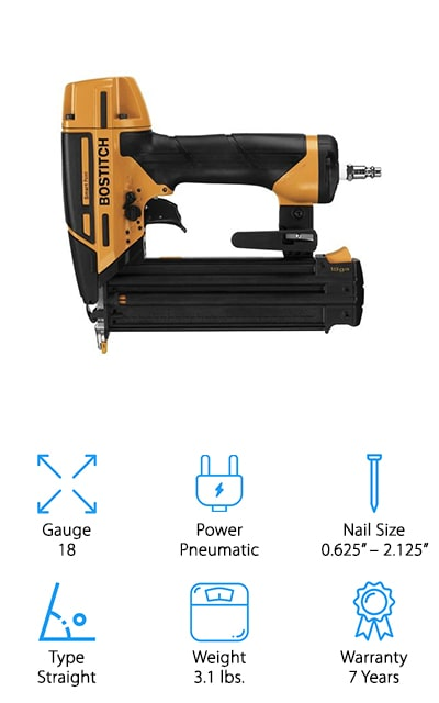 BOSTITCH Smart Point Nailer