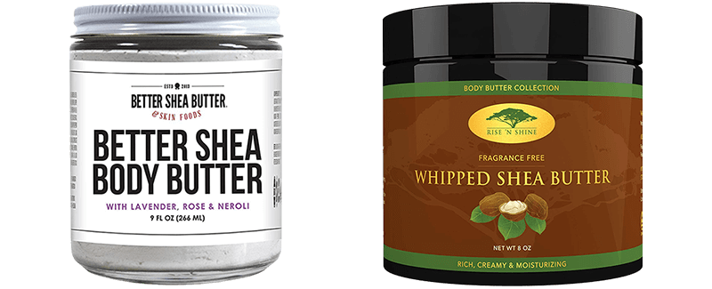 Best Whipped Shea Butters