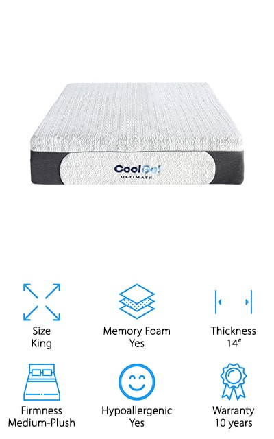 Classic Brands Cool Gel Mattress