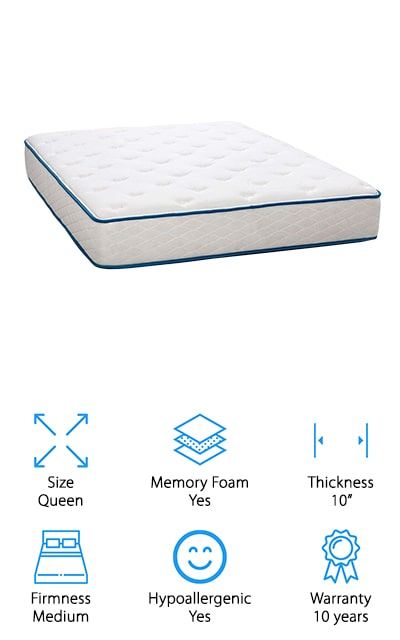 Dreamfoam Bedding Cooling Mattress