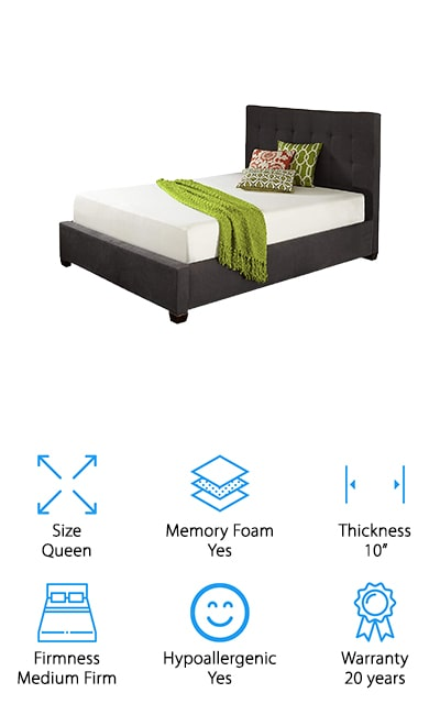 Live and Sleep Classic Cooling Bed