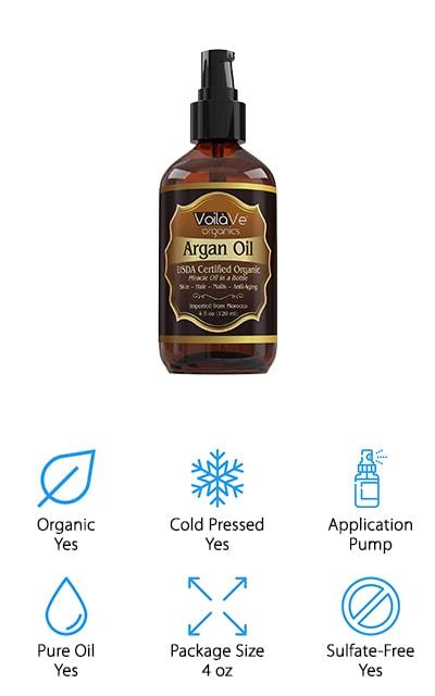 Voila Ve Moroccan Argan Oil