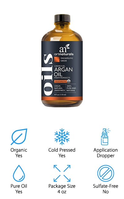 ArtNaturals Moroccan Argan Oil