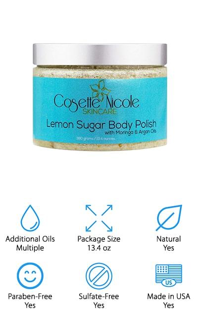 Cosette Nicole Lemon Sugar Polish