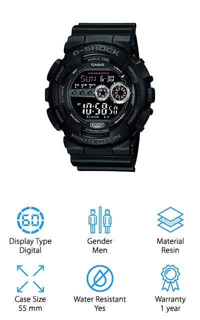 Casio G-Shock Digital Sport Watch