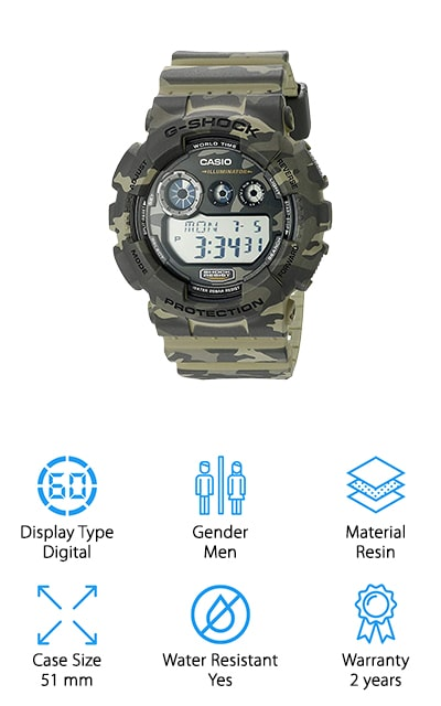 G-Shock Camo Sport Watch