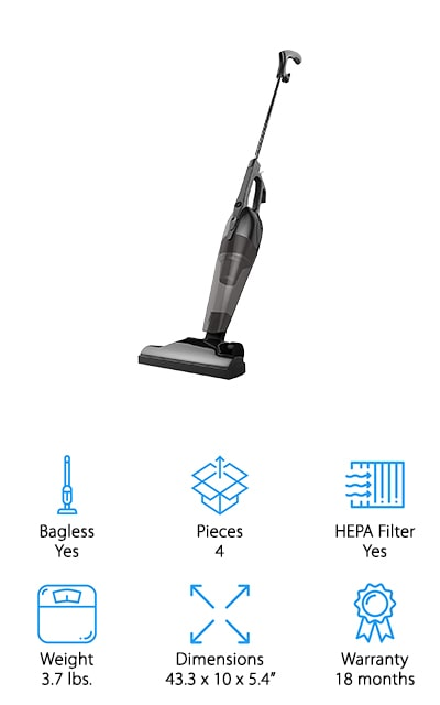 BESTEK Stick Vacuum Cleaner