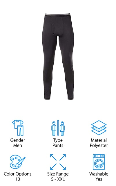 Lapasa 2-Pack Thermal Pants