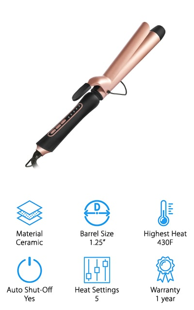 BESTOPE Curling Iron