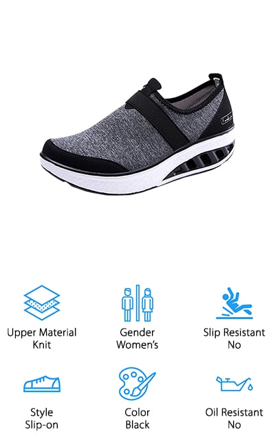 YKH Platform Walking Shoes