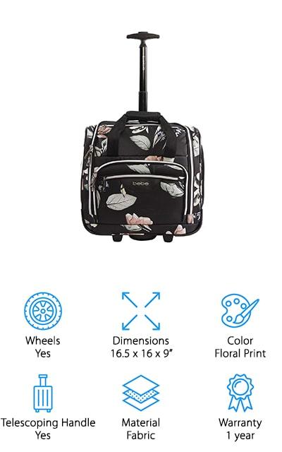 BEBE Valentina Under Seat Bag
