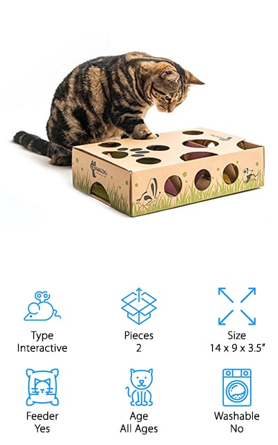 Cat Amazing Maze & Puzzle Toy