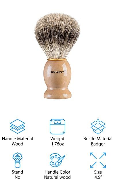 Shaveway Badger Shaving Brush