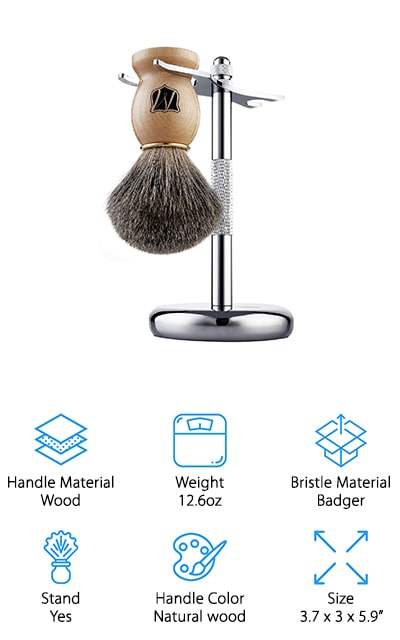 Miusco Shaving Brush