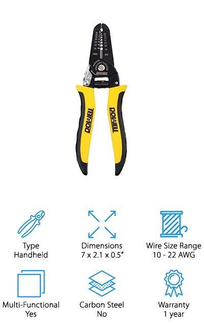 DOWELL 10-22 AWG Wire Stripper