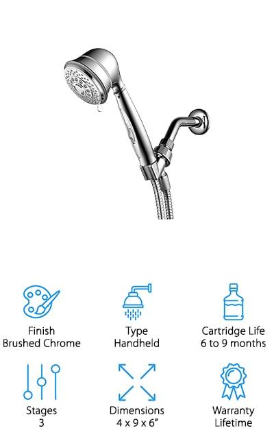 HotelSpa Filtered Hand Shower