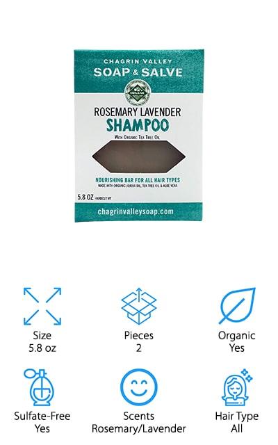 Chagrin Valley Soap Shampoo Bar
