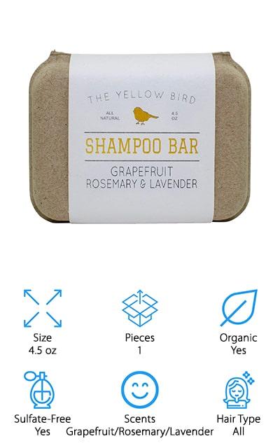 The Yellow Bird Shampoo Soap